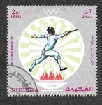 Stamps United Arab Emirates -  YtPA61A - Pre-JJOO Verano Munich´72