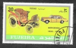 Stamps United Arab Emirates -  Yt113A - Automóviles