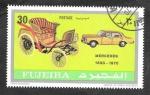 Sellos de Asia - Emiratos Árabes Unidos -  Yt113A - Automóviles