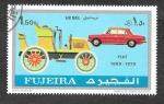 Sellos de Asia - Emiratos Árabes Unidos -  YtPA54C - Automóviles