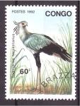 Stamps Republic of the Congo -  serie- Aves zancudas