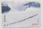 Stamps Norway -  EUROPA - Caminando por el glaciar