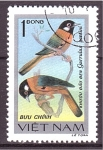 Stamps Vietnam -  serie- Pajaros cantores