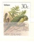 Sellos de Oceania - Nueva Zelanda -  Kakapo RESERVADO