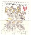 Sellos de Europa - Checoslovaquia -  polluelos RESERVADO