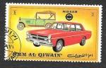 Sellos de Asia - Emiratos Árabes Unidos -  Yt107A - Automóviles