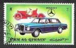 Stamps United Arab Emirates -  Yt107D - Automóviles