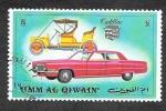 Sellos de Asia - Emiratos Árabes Unidos -  Yt107E - Automóviles