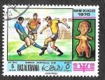 Stamps United Arab Emirates -  YtPA31E - Campeonato Mundial de Fútbol México 70