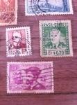 Stamps : America : Brazil :  Selos Antigos
