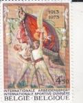 Stamps Belgium -  60 aniversario Sociedad Deportiva de los Trabajadores