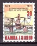 Stamps Oceania - Samoa -  250 aniversario