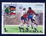 Sellos del Mundo : Africa : Liberia :  Futbol