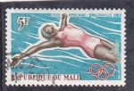 Stamps : Asia : Mali :  juegos africanos-Brazzaville