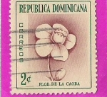 Sellos del Mundo : America : Rep_Dominicana : Flor de la Caoba