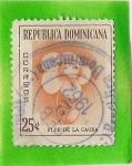 Stamps America - Dominican Republic -  Flor de la Caoba