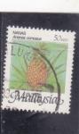 Stamps : Asia : Malaysia :  piña tropical