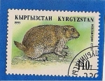 Stamps Asia - Kyrgyzstan -  Animales