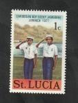 Sellos del Mundo : America : Santa_Lucía : 419 - 6ª Reunión Caribeña de Scouts
