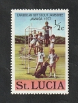 Sellos del Mundo : America : Santa_Lucía : 418 - 6ª Reunión Caribeña de Scouts