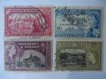 Sellos de America - Trinidad y Tobago -  Queen Elizabeth II- Serie: Imágenes 1953/1959