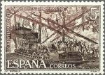 Stamps Europe - Spain -  2056 - IV centenario de la Batalla de Lepanto - Batalla de Lepanto