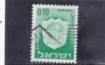 Sellos de Asia - Israel -  ESCUDO