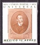 Stamps Mexico -  Primer cent. de U.P.U.