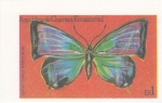 Sellos del Mundo : Africa : Guinea_Ecuatorial : mariposa