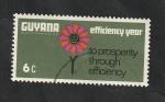 Sellos del Mundo : America : Guyana : 299 - Flor
