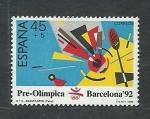 Sellos de Europa - España -  JJ.OO Barcelona  92