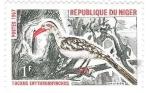 Sellos de Africa - Níger -  aves