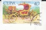 Sellos del Mundo : America : Cuba :  carruaje antiguo