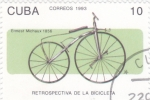 Sellos de America - Cuba -  retrospectiva de la bicicleta