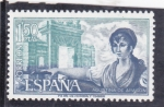 Sellos de Europa - España -  Agustina de Aragón (40)