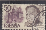 Stamps : Europe : Spain :  Antonio Machado    (40)