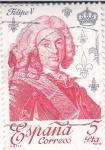 Stamps : Europe : Spain :  Felipe V  (40)