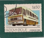 Sellos de Africa - Mozambique -  Autobus