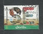 Stamps Spain -  Sevilla