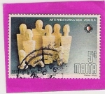 Stamps Europe - Malta -  Arte Prehistorico