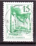 Stamps Yugoslavia -  serie- Tecnología y arquitectúra