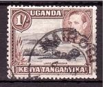 Stamps Uganda -  Emisiones 1935 con el retrato de George VI