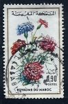 Stamps Morocco -  Flor
