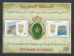 Sellos del Mundo : Africa : Marruecos : 50 Aniver.Creacion F.A.R.