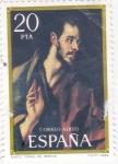 Stamps : Europe : Spain :  Santo Tomás (el Greco)   (40)
