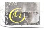 Sellos de Europa - Bélgica -  edgard p.jacobs