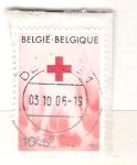 Stamps Belgium -  Cruz Roja