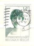 Sellos de Europa - Bélgica -  reina elisabeth