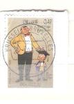 Sellos de Europa - Bélgica -  dibujos RESERVADO