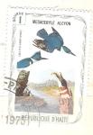 Sellos del Mundo : America : Haití : megaceryle alcyon